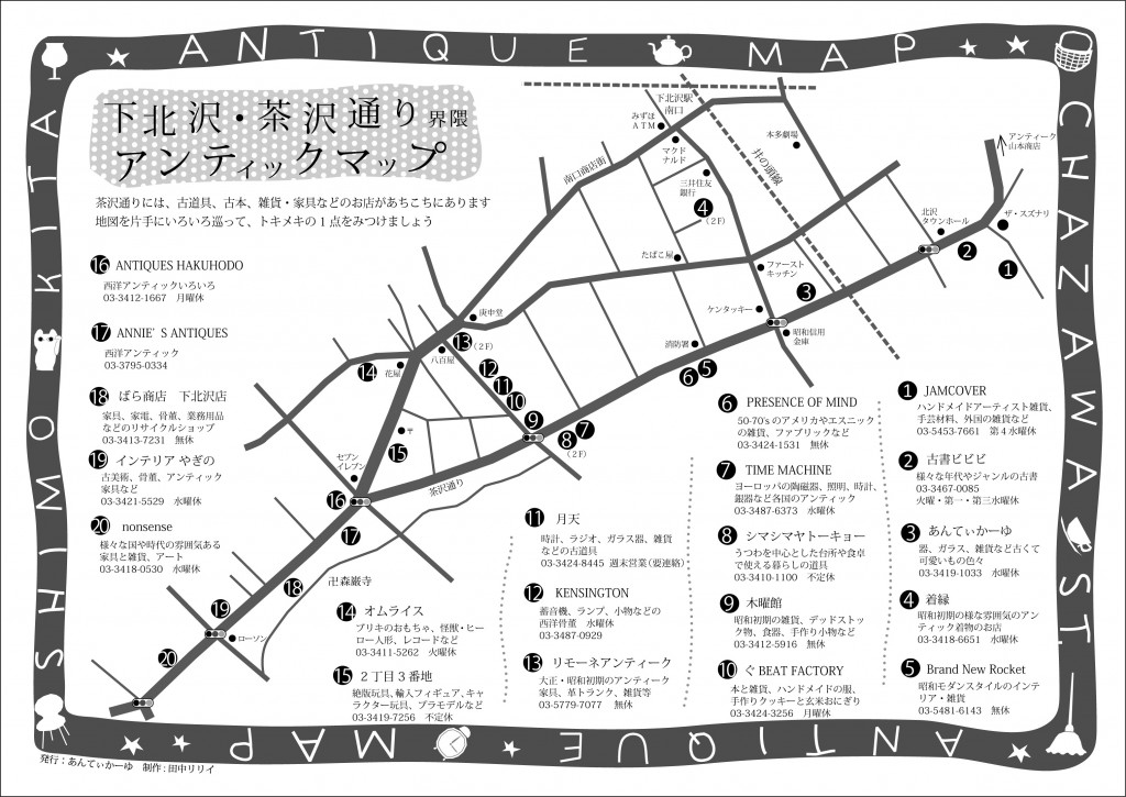 下北沢 地図
